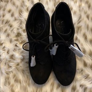 Jessica Simpson NWOT Wedged Suede Boot